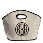 Monogrammed Canvas Bag