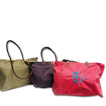 MONOGRAM LIGHTWEIGHT FOLDABLE TOTE