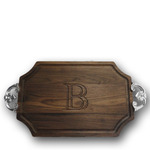 MONOGRAM WALNUT CUTTING BOARD