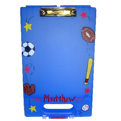 Personalized Clipboard: Sports