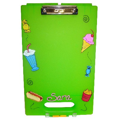 Personalized Clipboard: Snacks